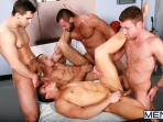 Horny Patient - Phenix Saint - Dylan Roberts - Trevor Knight - Chris Tyler - Jessy Ares - Jizz Orgy - Men of Gay Porn - Photo #15