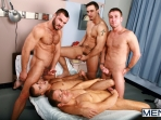 Horny Patient - Phenix Saint - Dylan Roberts - Trevor Knight - Chris Tyler - Jessy Ares - Jizz Orgy - Men of Gay Porn - Photo #18