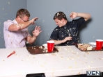 Food Fight - Tyler Sweet - Bobby Clark - Big Dicks At School - Men of Gay Porn - Photo #1