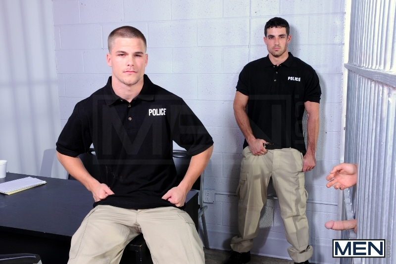 Holding Cell - Johnny Rapid - Jimmy Johnson - Jack King - Drill My Hole - Men of Gay Porn - Photo #1