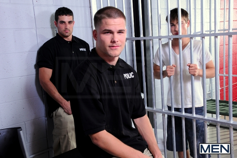 Holding Cell - Johnny Rapid - Jimmy Johnson - Jack King - Drill My Hole - Men of Gay Porn - Photo #4