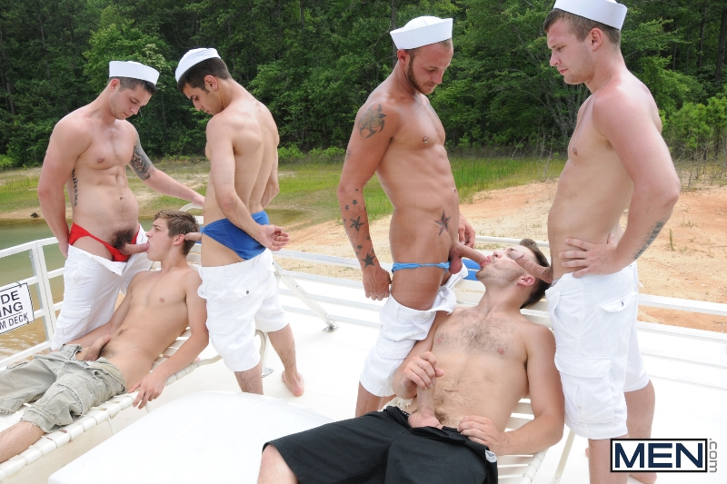 Gay Boat - Blaze - Johnny Rapid - Tommy Defendi - Hayden Richards - Chip Young - James Hamilton - Cruize - Haigan Sence - Jizz Orgy - Men of Gay Porn - Photo #10