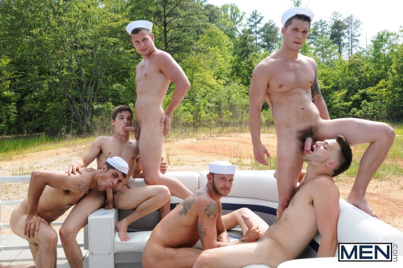Gay Boat - Blaze - Johnny Rapid - Tommy Defendi - Hayden Richards - Chip Young - James Hamilton - Cruize - Haigan Sence - Jizz Orgy - Men of Gay Porn - Photo #11