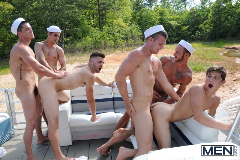 Gay Boat - Blaze - Johnny Rapid - Tommy Defendi - Hayden Richards - Chip Young - James Hamilton - Cruize - Haigan Sence - Jizz Orgy - Men of Gay Porn - Photo #15