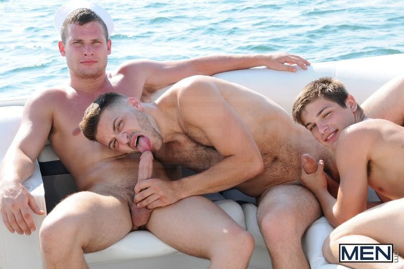 Gay Boat - Blaze - Johnny Rapid - Tommy Defendi - Hayden Richards - Chip Young - James Hamilton - Cruize - Haigan Sence - Jizz Orgy - Men of Gay Porn - Photo #16
