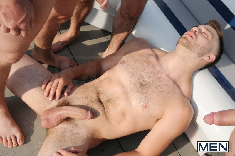 Gay Boat - Blaze - Johnny Rapid - Tommy Defendi - Hayden Richards - Chip Young - James Hamilton - Cruize - Haigan Sence - Jizz Orgy - Men of Gay Porn - Photo #19