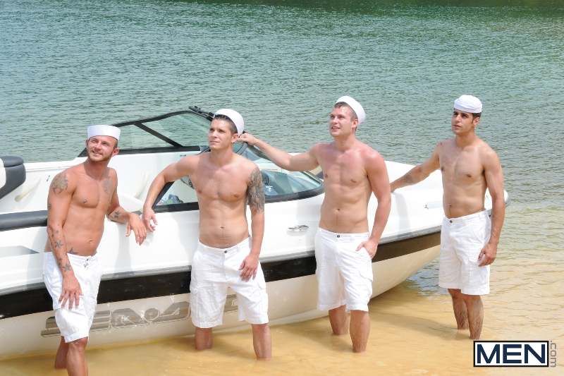 Gay Boat - Blaze - Johnny Rapid - Tommy Defendi - Hayden Richards - Chip Young - James Hamilton - Cruize - Haigan Sence - Jizz Orgy - Men of Gay Porn - Photo #3