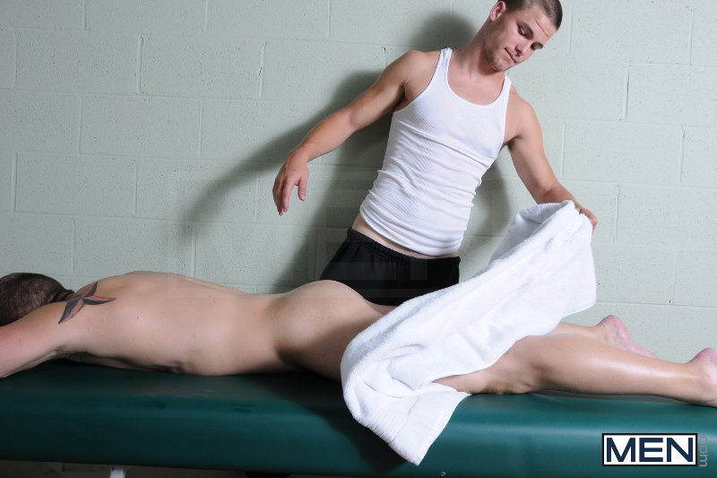 Deep Tissue - Jimmy Johnson - Logan Vaughn - Drill My Hole - Men of Gay Porn - Photo #6