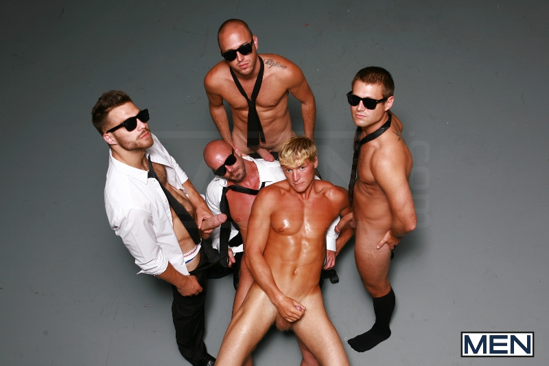 Reservoir Dicks - Gavin Waters - Mitch Vaughn - Tommy Defendi - Rex Roddick - Bobby Clark - Jizz Orgy - Men of Gay Porn - Photo #12