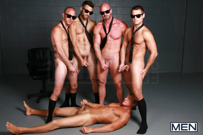 Reservoir Dicks - Gavin Waters - Mitch Vaughn - Tommy Defendi - Rex Roddick - Bobby Clark - Jizz Orgy - Men of Gay Porn - Photo #16