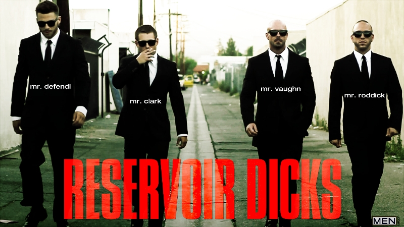 Reservoir Dicks - Gavin Waters - Mitch Vaughn - Tommy Defendi - Rex Roddick - Bobby Clark - Jizz Orgy - Men of Gay Porn - Photo #2