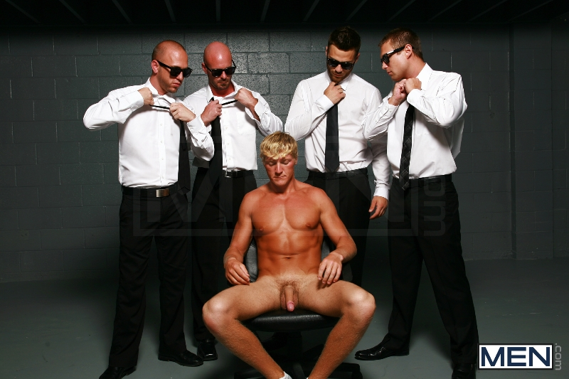 Reservoir Dicks - Gavin Waters - Mitch Vaughn - Tommy Defendi - Rex Roddick - Bobby Clark - Jizz Orgy - Men of Gay Porn - Photo #6