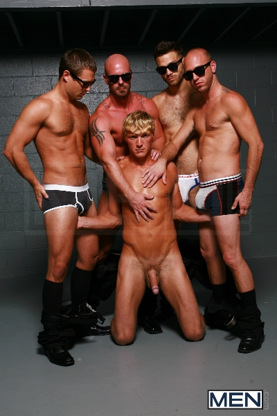 Reservoir Dicks - Gavin Waters - Mitch Vaughn - Tommy Defendi - Rex Roddick - Bobby Clark - Jizz Orgy - Men of Gay Porn - Photo #8