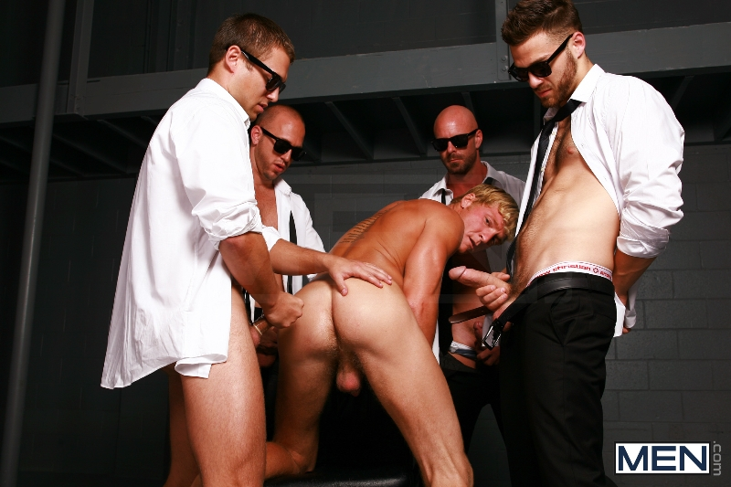 Reservoir Dicks - Gavin Waters - Mitch Vaughn - Tommy Defendi - Rex Roddick - Bobby Clark - Jizz Orgy - Men of Gay Porn - Photo #9