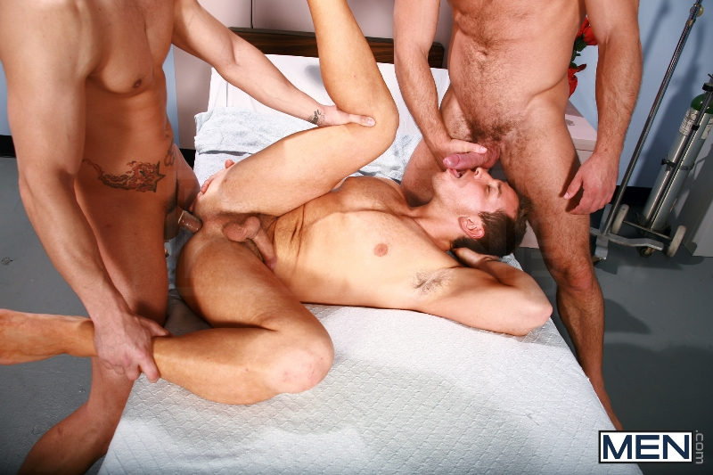 Horny Patient - Phenix Saint - Dylan Roberts - Trevor Knight - Chris Tyler - Jessy Ares - Jizz Orgy - Men of Gay Porn - Photo #11