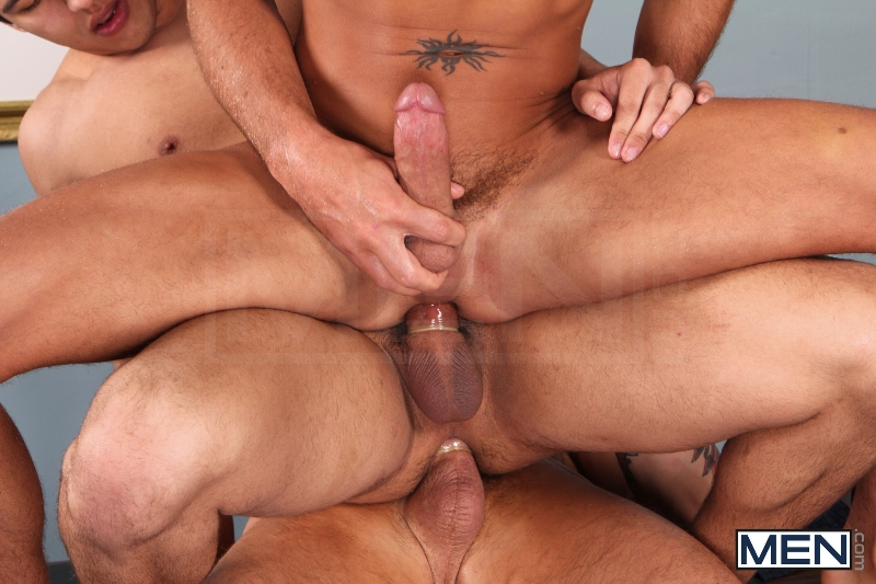 Sniffers Reward - Kirk Cummings - Trenton Ducati - Tony Newport - Big Dicks At School - Men of Gay Porn - Photo #14