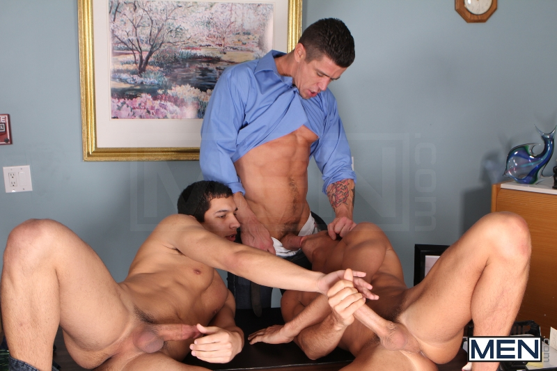 Sniffers Reward - Kirk Cummings - Trenton Ducati - Tony Newport - Big Dicks At School - Men of Gay Porn - Photo #6