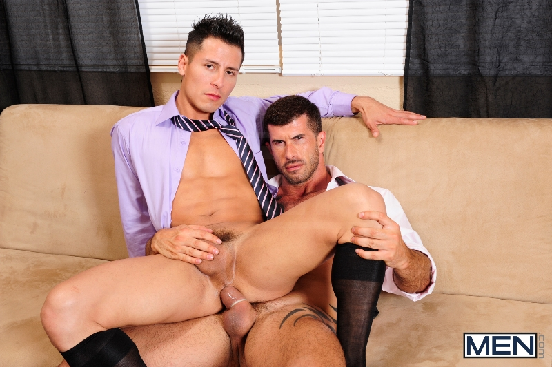 After Hours Pick-Up - Adam Killian - Edin Sol - The Gay Office - Men of Gay Porn - Photo #11