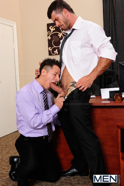 After Hours Pick-Up - Adam Killian - Edin Sol - The Gay Office - Men of Gay Porn - Photo #6