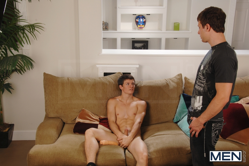 Curiosity Killed The Cock - Tyler Sweet - Spencer Fox - Str8 To Gay - Men of Gay Porn - Photo #5
