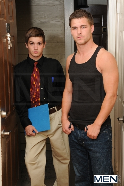 Door To Door - Johnny Rapid - Jimmy Johnson - Drill My Hole - Men of Gay Porn - Photo #5