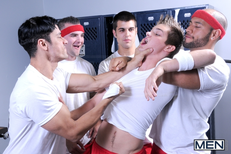 Winning Ball - Blaze - Rafael Alencar - Johnny Rapid - Leo Forte - Brad Foxx - Jizz Orgy - Men of Gay Porn - Photo #4