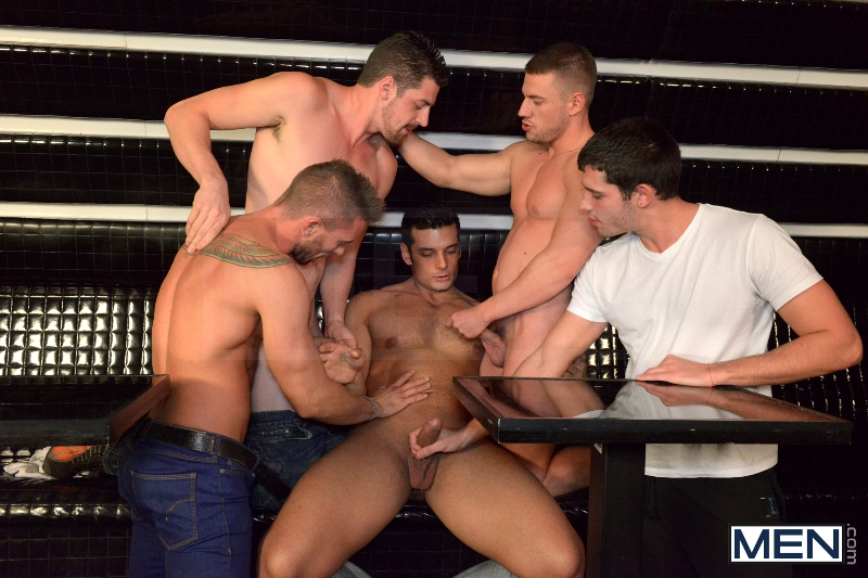 Men In Budapest - Series Preview - Episode #8- Jizz Orgy - Men of Gay Porn - Photo #1
