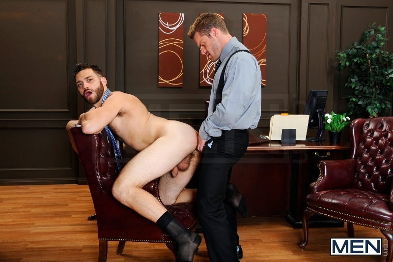 The Horny Publisher - Tommy Defendi - Landon Conrad - The Gay Office - Men of Gay Porn - Photo #10