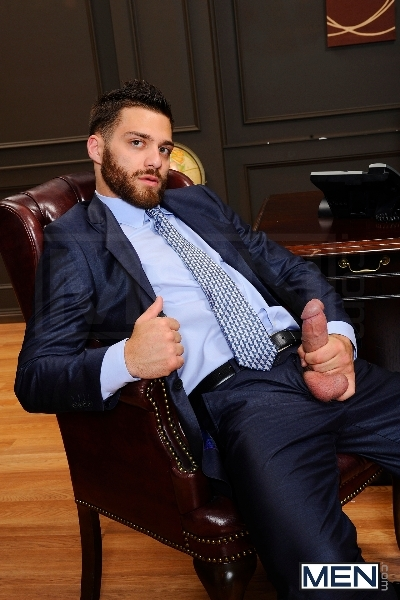 The Horny Publisher - Tommy Defendi - Landon Conrad - The Gay Office - Men of Gay Porn - Photo #2