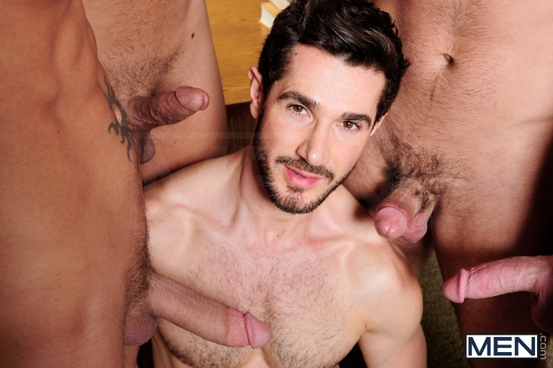Honor Roll - Dean Monroe - Shane Frost - Drake Wild - Ayden Marx - Luke Marcum - Jizz Orgy - Men of Gay Porn - Photo #3