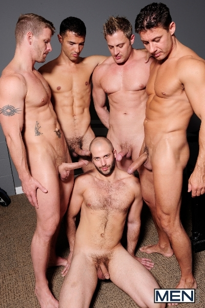 Ace Of Spades - David Chase - Luke Hass - Brenden Cage - Robert Van Damme - Jeremy Stevens - Jizz Orgy - Men of Gay Porn - Photo #11