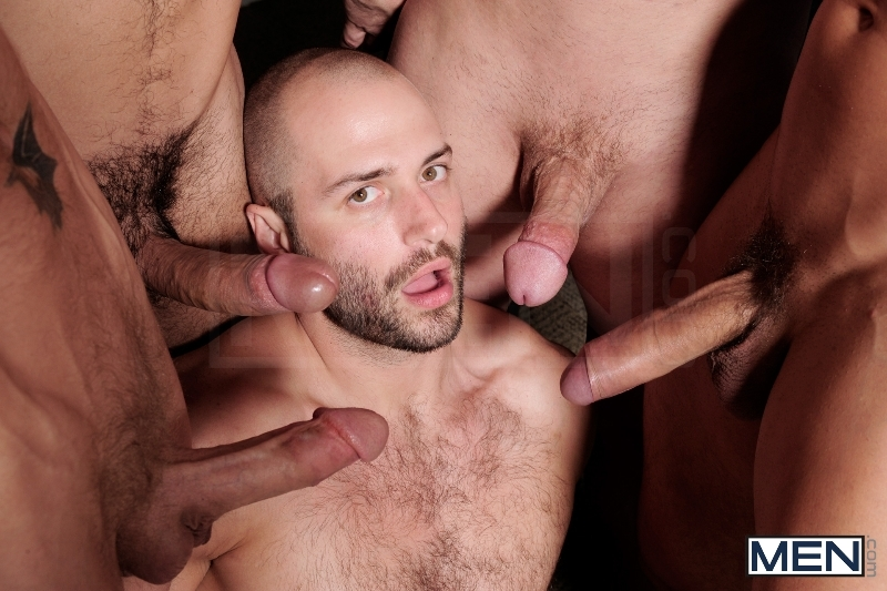 Ace Of Spades - David Chase - Luke Hass - Brenden Cage - Robert Van Damme - Jeremy Stevens - Jizz Orgy - Men of Gay Porn - Photo #12