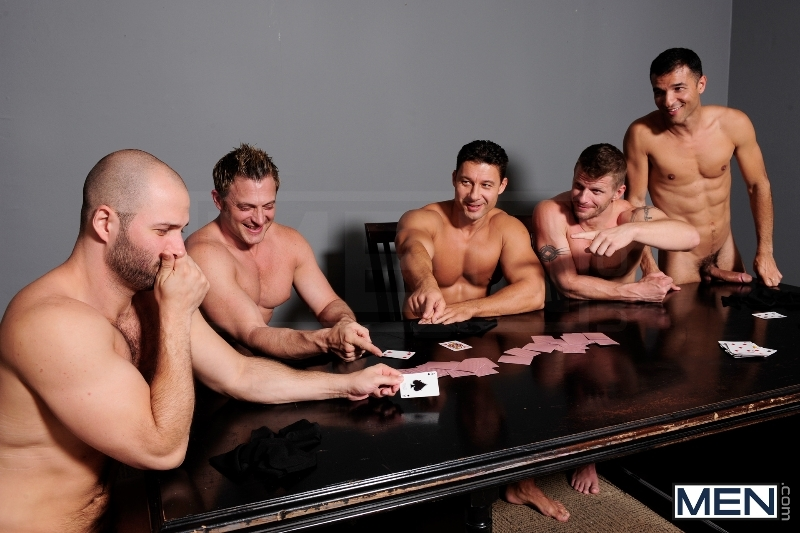 Ace Of Spades - David Chase - Luke Hass - Brenden Cage - Robert Van Damme - Jeremy Stevens - Jizz Orgy - Men of Gay Porn - Photo #4