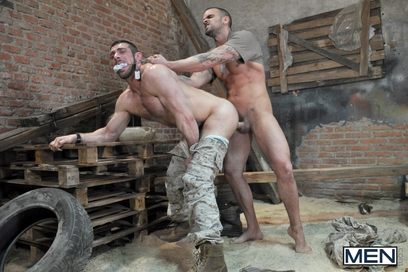 Sergeant's Orders - Damien Crosse - Scott Carter - Drill My Hole - Men of Gay Porn - Photo #10