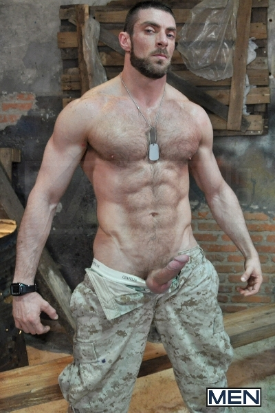 Sergeant's Orders - Damien Crosse - Scott Carter - Drill My Hole - Men of Gay Porn - Photo #3