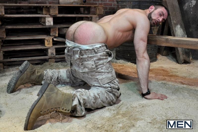Sergeant's Orders - Damien Crosse - Scott Carter - Drill My Hole - Men of Gay Porn - Photo #6
