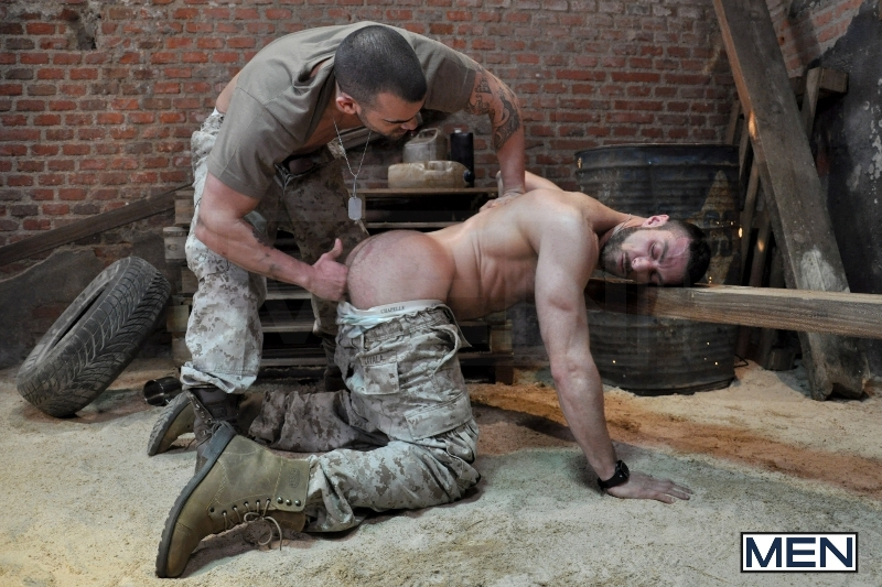 Sergeant's Orders - Damien Crosse - Scott Carter - Drill My Hole - Men of Gay Porn - Photo #7