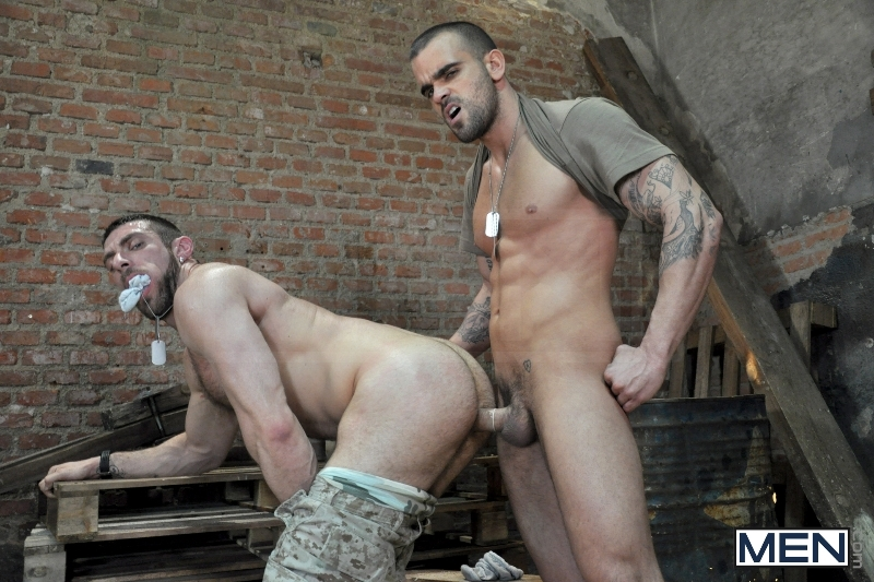 Sergeant's Orders - Damien Crosse - Scott Carter - Drill My Hole - Men of Gay Porn - Photo #9
