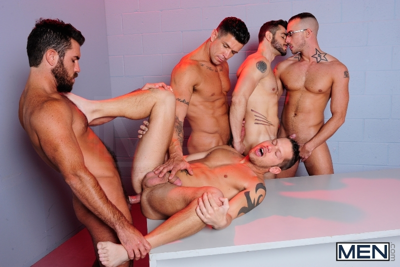 The Hacker - Dean Monroe - Shane Frost - Jessie Colter - Damien Stone - Trenton Ducati - Jizz Orgy - Men of Gay Porn - Photo #10