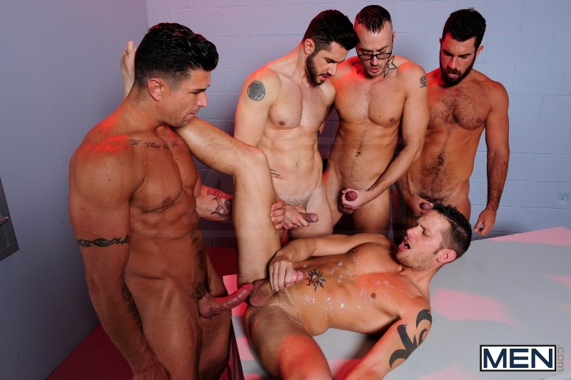 The Hacker - Dean Monroe - Shane Frost - Jessie Colter - Damien Stone - Trenton Ducati - Jizz Orgy - Men of Gay Porn - Photo #12