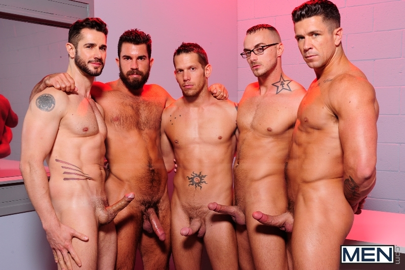 The Hacker - Dean Monroe - Shane Frost - Jessie Colter - Damien Stone - Trenton Ducati - Jizz Orgy - Men of Gay Porn - Photo #2