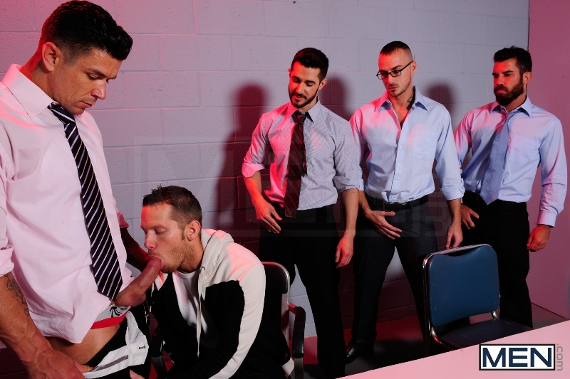 The Hacker - Dean Monroe - Shane Frost - Jessie Colter - Damien Stone - Trenton Ducati - Jizz Orgy - Men of Gay Porn - Photo #4