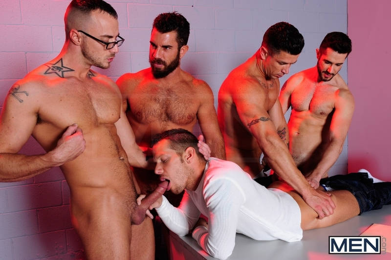 The Hacker - Dean Monroe - Shane Frost - Jessie Colter - Damien Stone - Trenton Ducati - Jizz Orgy - Men of Gay Porn - Photo #6