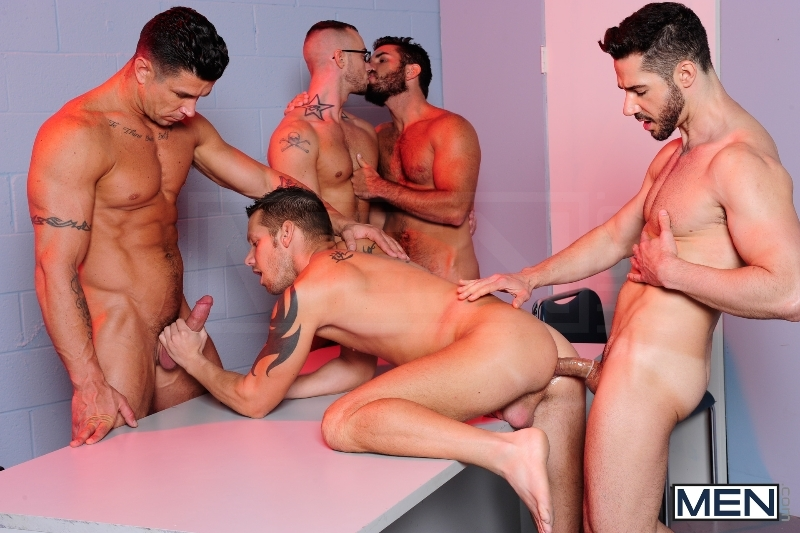 The Hacker - Dean Monroe - Shane Frost - Jessie Colter - Damien Stone - Trenton Ducati - Jizz Orgy - Men of Gay Porn - Photo #7