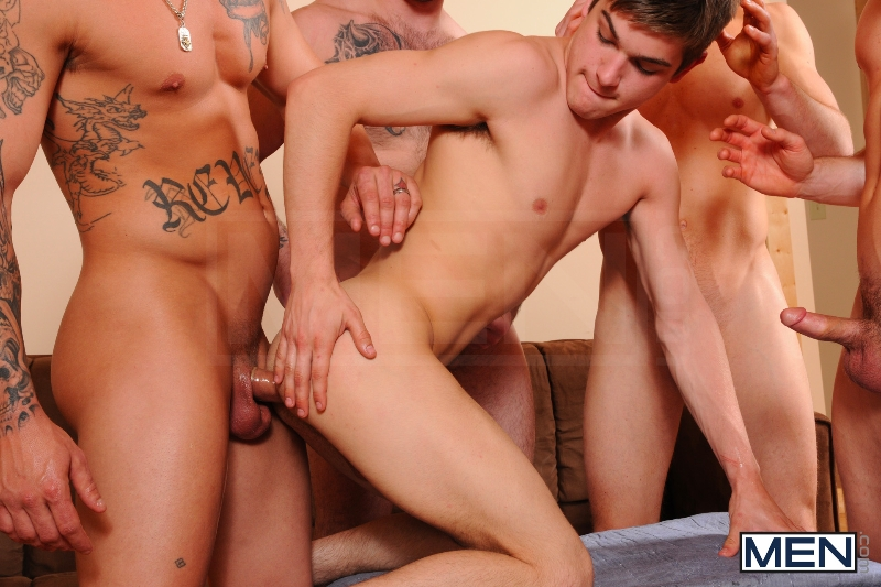 Johnny Rapid Gang Bang - Johnny Rapid - Tony Paradise - Sebastian Young - Rosso Twins - Jizz Orgy - Men of Gay Porn - Photo #16