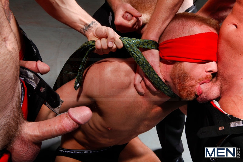 Masked Men - Cole Streets - Phenix Saint - Christopher Daniels - Mitch Vaughn - Micah Jones - Jizz Orgy - Men of Gay Porn - Photo #5