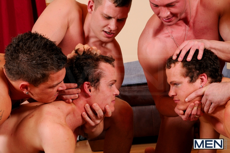 Disqualified - Tony Paradise - Sebastian Young - Rosso Twins - Hayden Richards - Aaron Anderson - Jizz Orgy - Men of Gay Porn - Photo #12