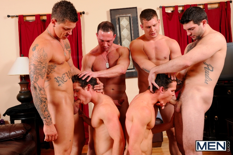 Disqualified - Tony Paradise - Sebastian Young - Rosso Twins - Hayden Richards - Aaron Anderson - Jizz Orgy - Men of Gay Porn - Photo #8