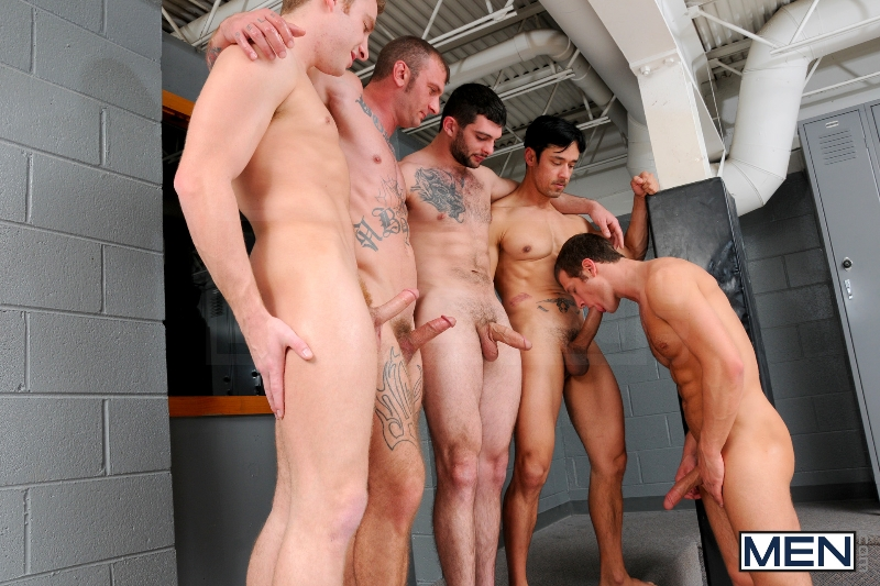 Coach Got A Boner - Rafael Alencar - Ricky Sinz - Tony Paradise - Spencer Fox - Sebastian Keys - Jizz Orgy - Men of Gay Porn - Photo #10