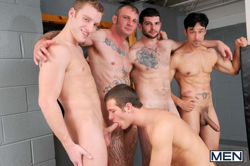 Coach Got A Boner - Rafael Alencar - Ricky Sinz - Tony Paradise - Spencer Fox - Sebastian Keys - Jizz Orgy - Men of Gay Porn - Photo #11